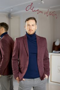 мужской пиджак пошив